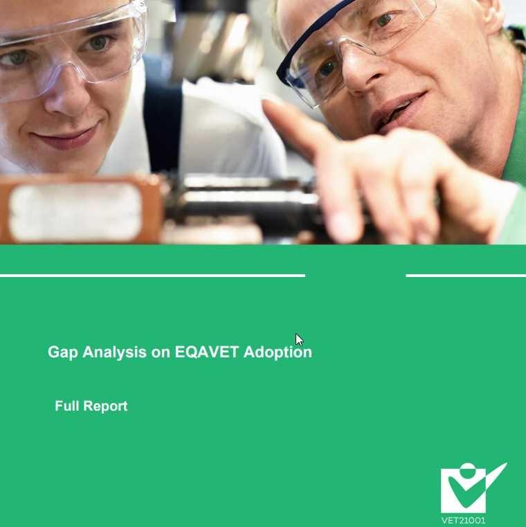 Objavljeno poročilo o implementaciji okvirov EQAVET